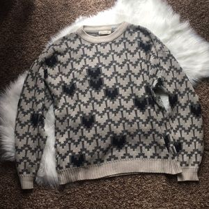 Vintage Adam Sloane Sweater heart print